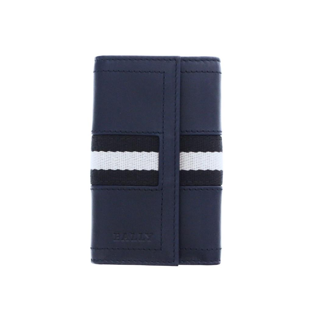BALLY バリー キーケース メンズ ブルー TUTO 517 NEW BLUE
