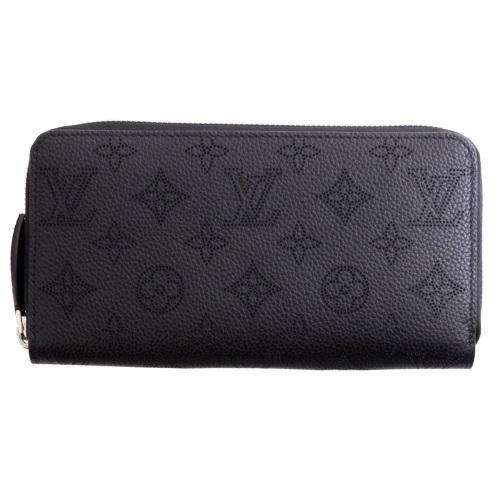 LOUIS VUITTON ルイヴィトン 財布 M61867 マヒナ ジッピー・ウォレット