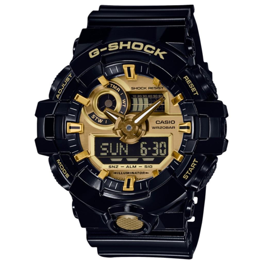 【72時間限定ポイント3倍】CASIO カシオ 腕時計 メンズ G-SHOCK GA-710GB-1AJF G-ショック
