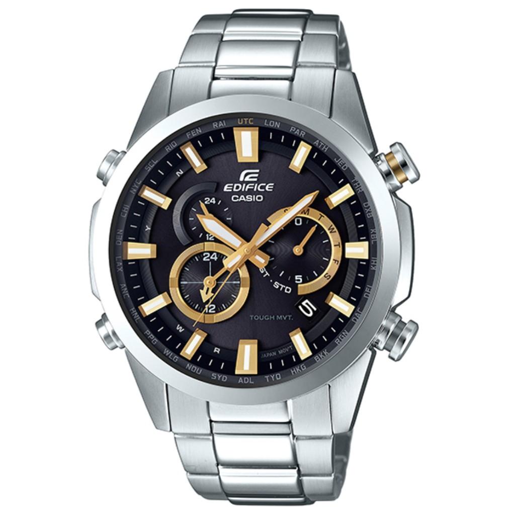 【34時間限定ポイント5倍 & 最大3万円OFFクーポン配布中】CASIO カシオ 腕時計 メンズ EQW-T640D-1A9JF EDIFICE エディフィス