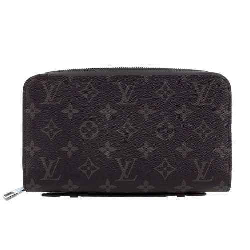 LOUIS VUITTON ルイヴィトン 財布 M61698 モノグラム・エクリプス ジッピーXL