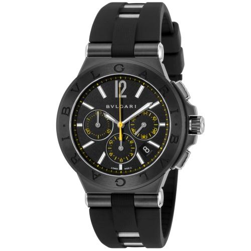 【72時間限定ポイント5倍】BVLGARI ブルガリ ディアゴノ ウルトラネロ DG42BBSCVDCH/2 メンズ 腕時計
