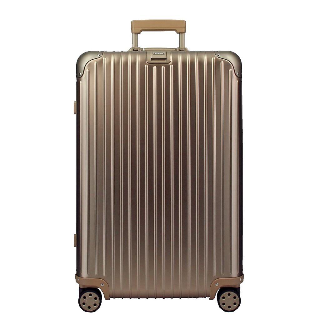 リモワ RIMOWA トパーズ チタンニウム 924.70.03.5 ゴールド 81L アルミニウム スーツケース