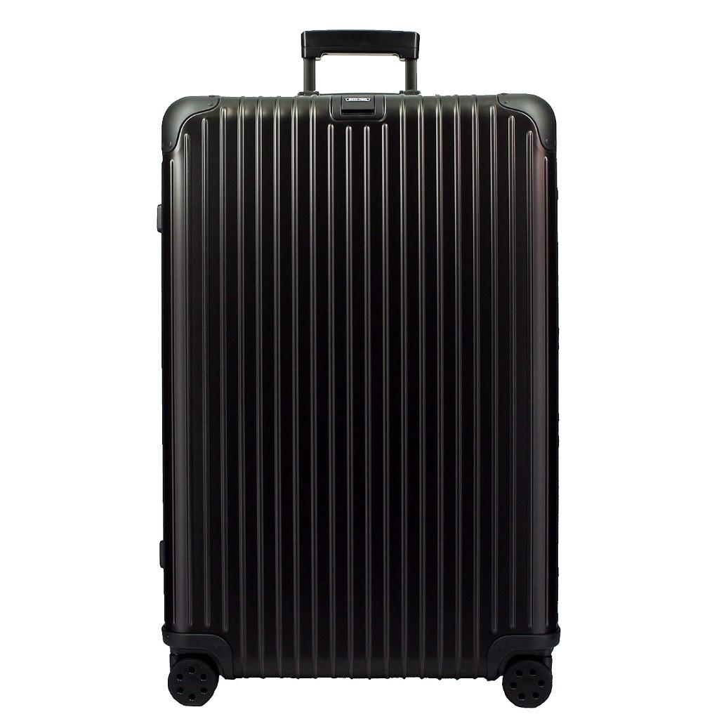 【26時間限定ポイント最大5倍 10/26 1:59まで】リモワ RIMOWA トパーズ ステルス 924.77.01.5 ブラック 97L アルミニウム スーツケース