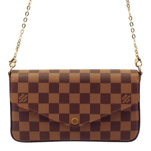 LOUIS VUITTON ルイヴィトン アクセサリーポーチ N63032 ダミエ ポシェット・フェリーチェ