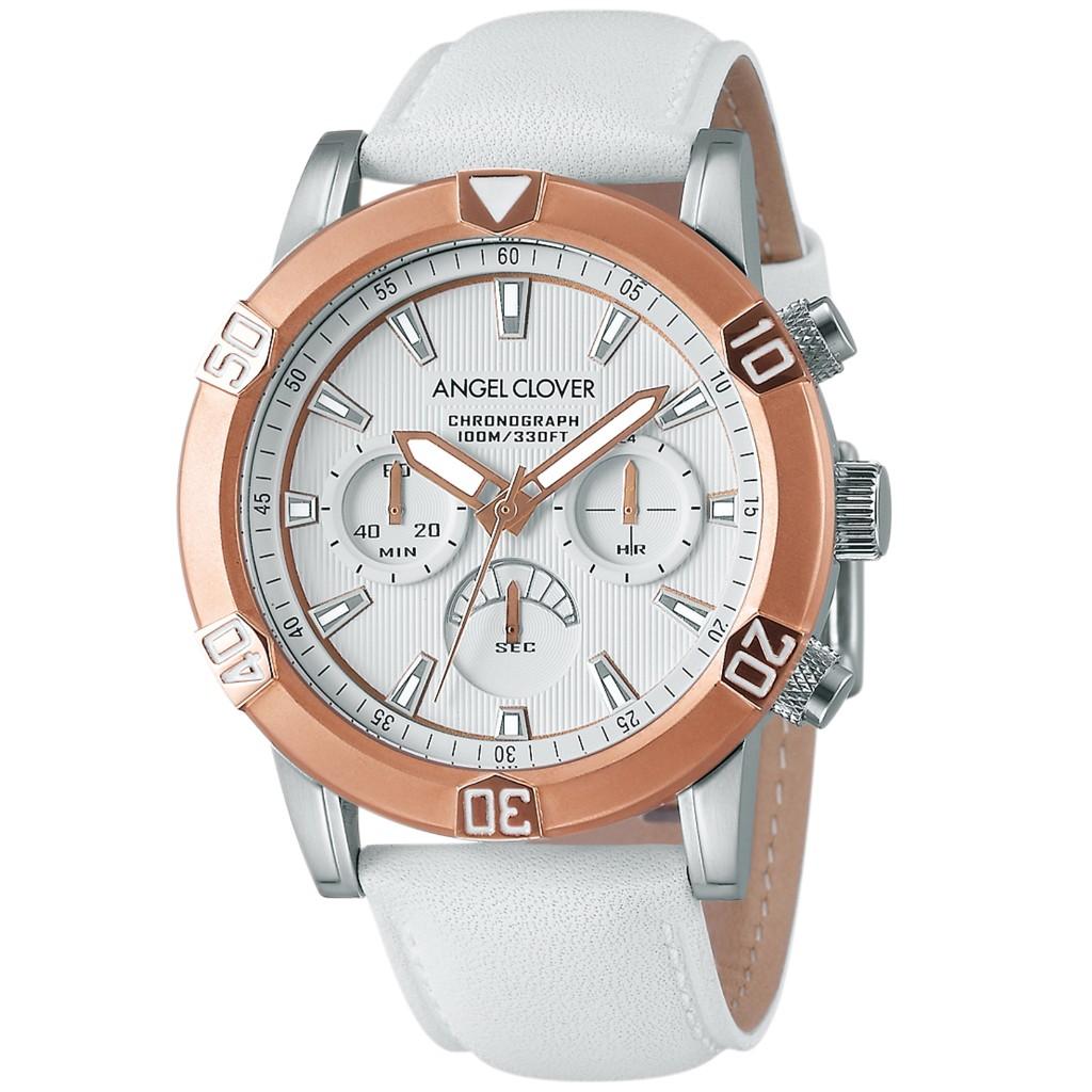 【72時間限定ポイント5倍】Angel Clover エンジェルクローバー 腕時計 メンズ BR43PWH-WH ブリオ Brio
