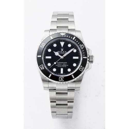 ROLEX Rolex Submariner 114060 black mens