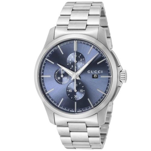 【期間限定ポイント10倍】グッチ 腕時計 メンズ GUCCI Gタイムレス クロノ YA126273