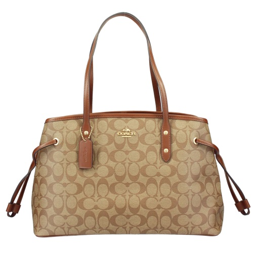 COACH OUTLET コーチ アウトレット トートバッグ レディース ブラウン F57842 IME74