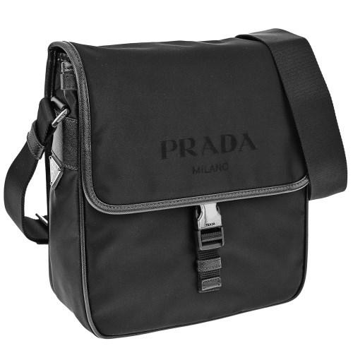 PRADA プラダ ショルダーバッグ メンズ ブラック 2VD770 064 F0002