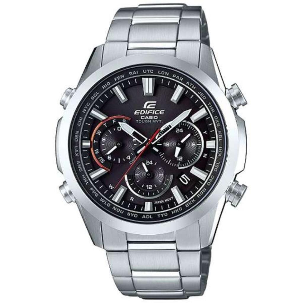 【34時間限定ポイント5倍 & 最大3万円OFFクーポン配布中】カシオ 腕時計 メンズ EDIFICE EQW-T650D-1AJF