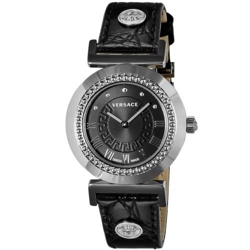 【72時間限定ポイント5倍】VERSACE ヴェルサーチ 腕時計 レディース ヴァニティ ブラック P5Q99D009S009