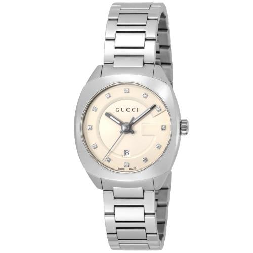 GUCCI グッチ 腕時計 レディース GG2570 シルバー YA142504