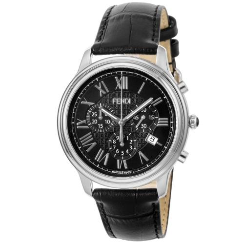 FENDI フェンディ 腕時計 メンズ クラシコクロノ ブラック F253011011