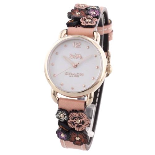 COACH コーチ 腕時計 レディース デランシー シルバー 14502817