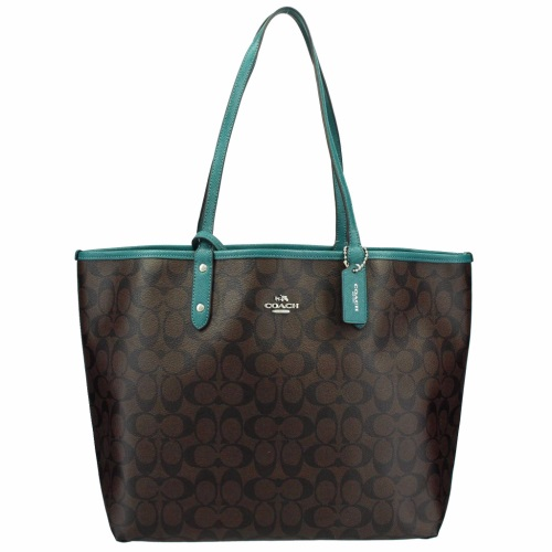 COACH OUTLET コーチ アウトレット トートバッグ レディース ダークブラウン F36658 SVMJ0