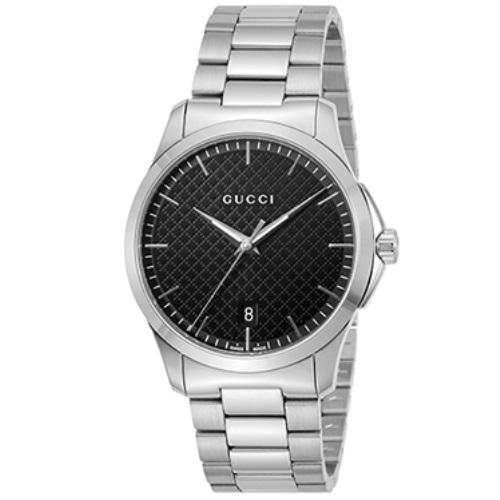 GUCCI グッチ 腕時計 メンズ Gタイムレス ブラック YA1264051