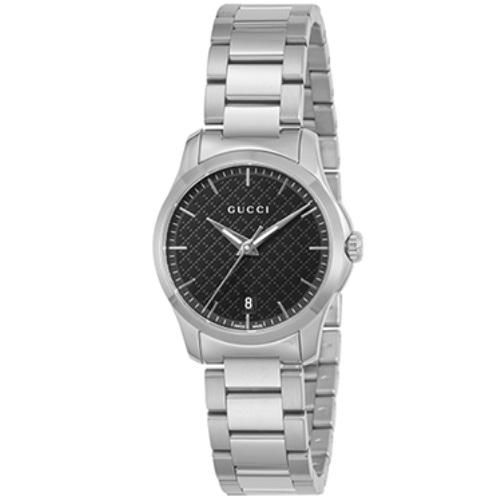 GUCCI グッチ 腕時計 レディース Gタイムレス ブラック YA126592
