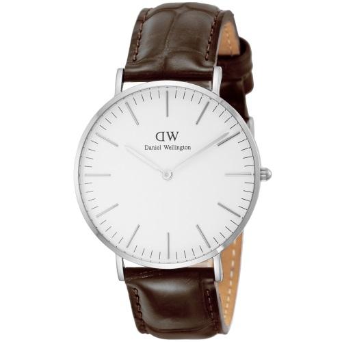 Daniel Wellington ダニエルウェリントン 腕時計 メンズ レディース クラシック ホワイト 00100055DW