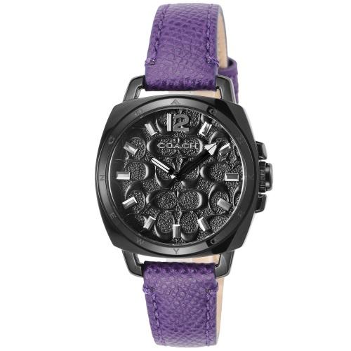 COACH コーチ 腕時計 レディース ボーイフレンド ブラック 14502040