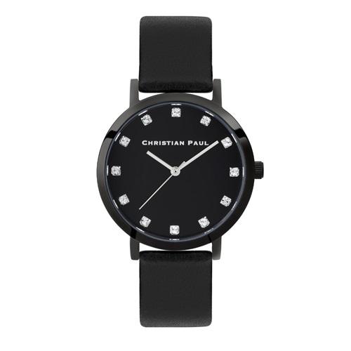 CHRISTIAN PAUL クリスチャンポール 腕時計 レディース ラグゼ ブラック SL01BKBK