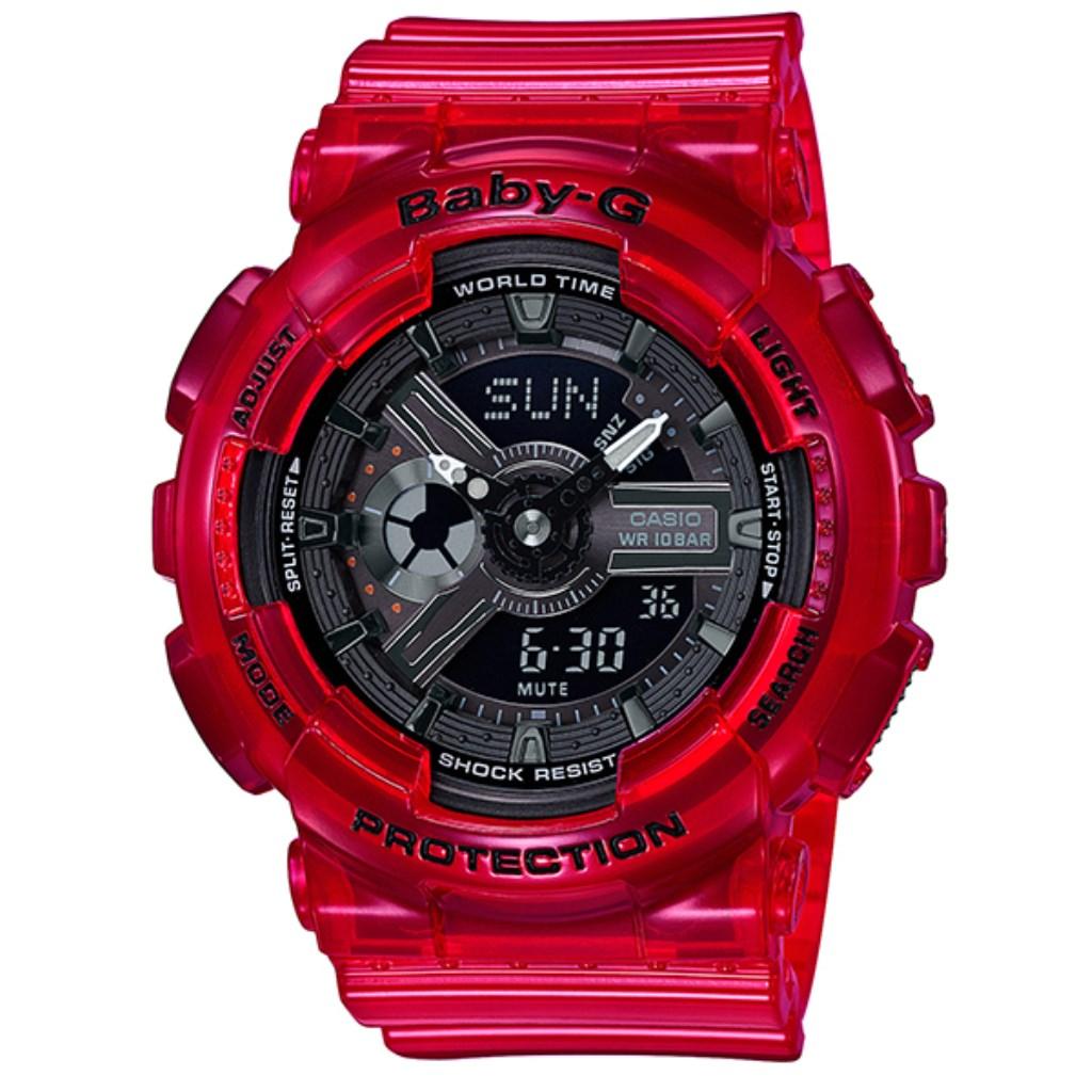 CASIO カシオ 腕時計 レディース Baby-G BA-110CR-4AJF ベビーG