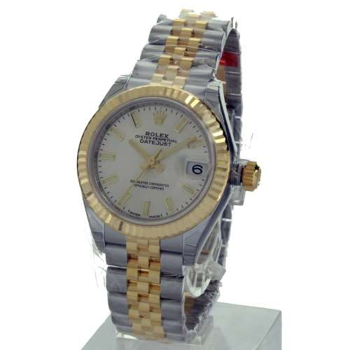 ROLEX ロレックス デイトジャスト28 シルバー 279173 腕時計 レディース