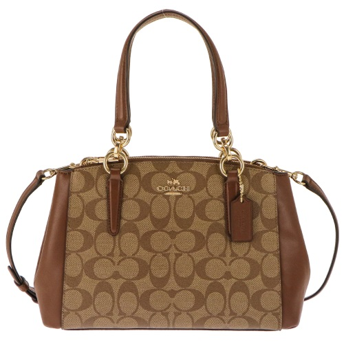 COACH OUTLET コーチ アウトレット トートバッグ レディース カーキ ブラウン F58290 IME74