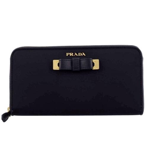 PRADA プラダ 長財布 レディース ブラック 1ML506 P0C F0002 NERO