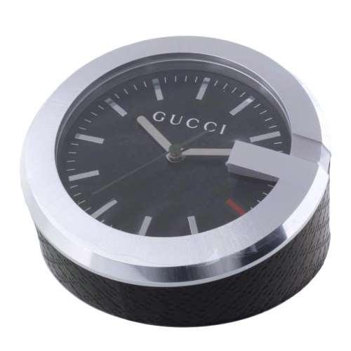 【24時間限定ポイント5倍 8/1 00:00~】GUCCI グッチ 置時計 ブラック YC210006
