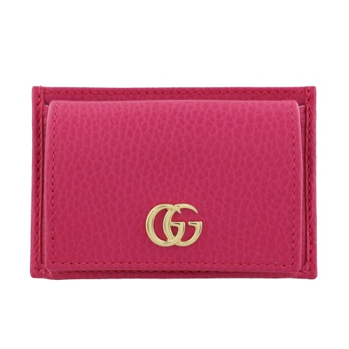 GUCCI グッチ カードケース レディース プチマーモント ピンク 497988 CAO0G 5752