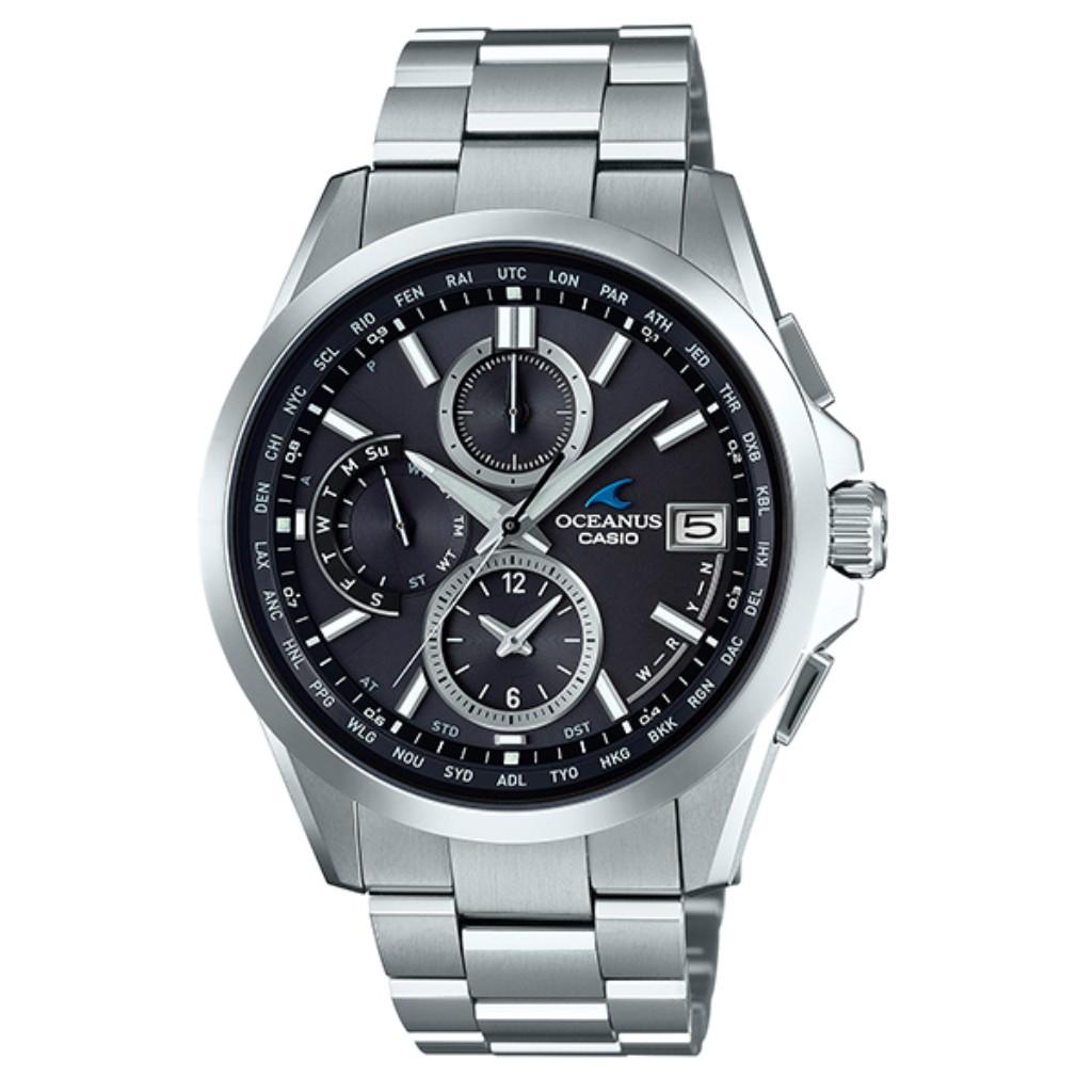 CASIO カシオ 腕時計 メンズ OCEANUS OCW-T2600-1A2JF オシアナス