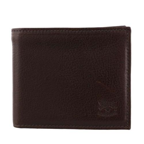 IL BISONTE イルビゾンテ 二つ折り財布 メンズ ダークブラウン C0817-P 455 DARK BROWN