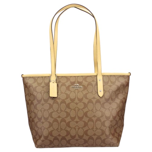 COACH アウトレット OUTLET コーチ イエロー アウトレット トートバッグ レディース カーキ カーキ イエロー F58292 SVNID, 快適エコ生活STORE:be06947e --- itxassou.fr
