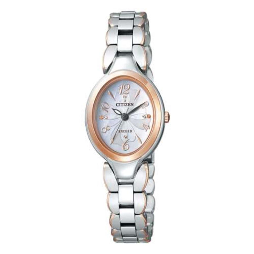 シチズン CITIZEN 腕時計 レディース EXCEED EX2044-54W エクシード
