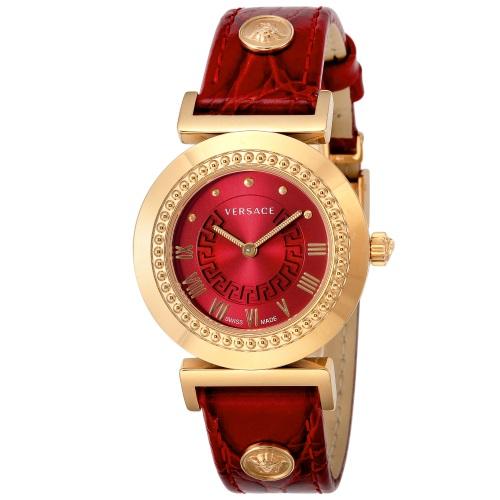 【38時間限定ポイント5倍 3/29 20時~】VERSACE ヴェルサーチ 腕時計 レディース バニティ レッド P5Q80D800S800