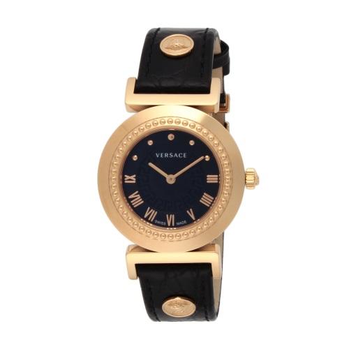 【34時間限定ポイント5倍 & 最大3万円OFFクーポン配布中】VERSACE ヴェルサーチ 腕時計 レディース バニティ ブラック P5Q80D009S009