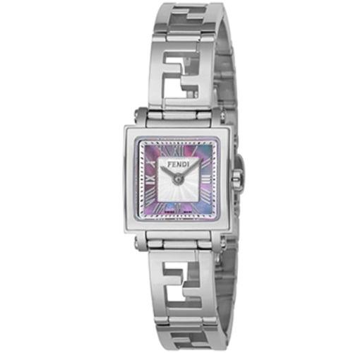 【72時間限定ポイント5倍】FENDI フェンディ 腕時計 レディース クアドロ ミニ ピンクパール F605027500