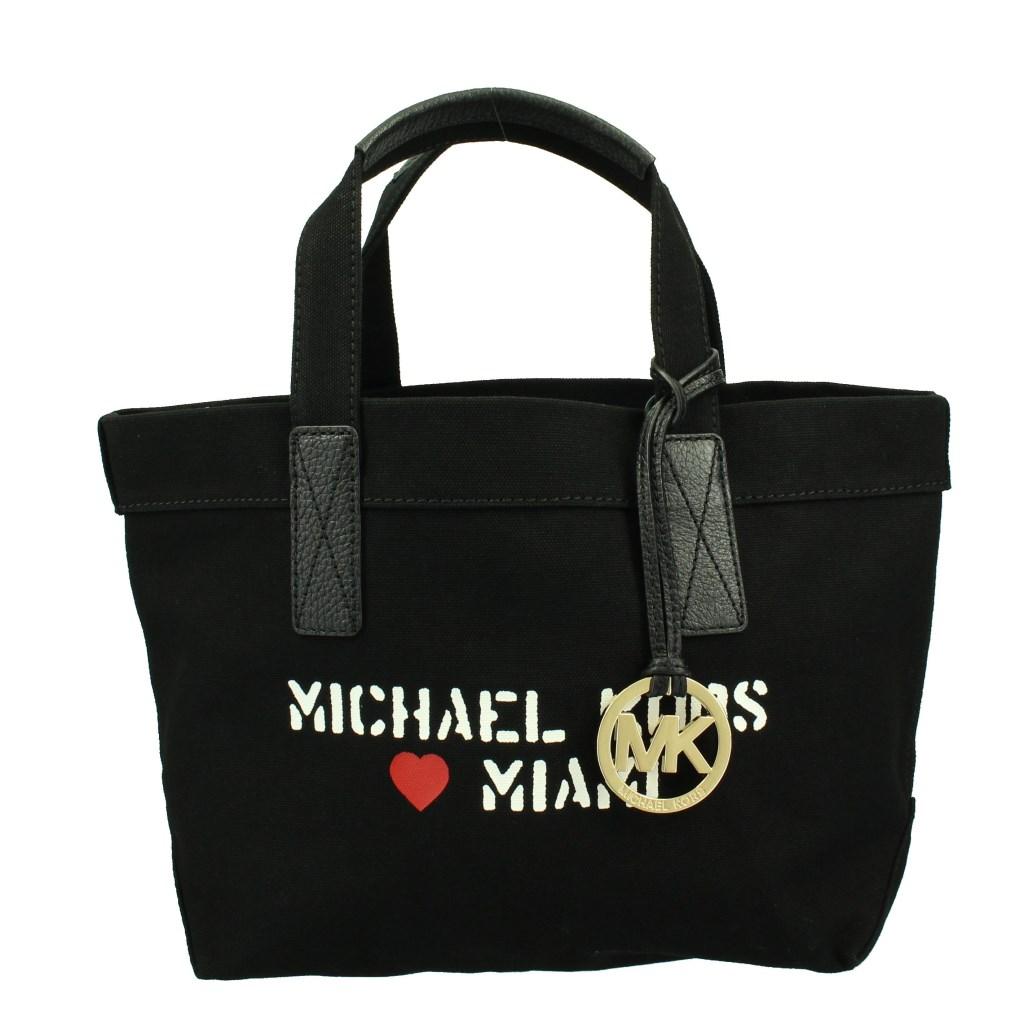 MICHAEL KORS マイケルコース トートバッグ レディース ブラック 35F7MT2T6R
