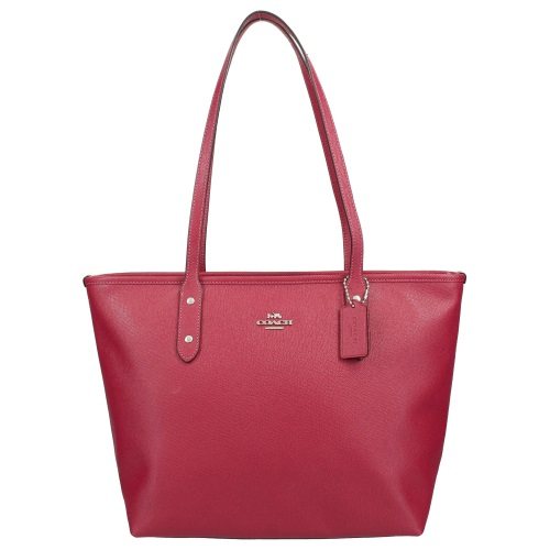 COACH OUTLET コーチ アウトレット トートバッグ レディース レッド F58846 SV/HP
