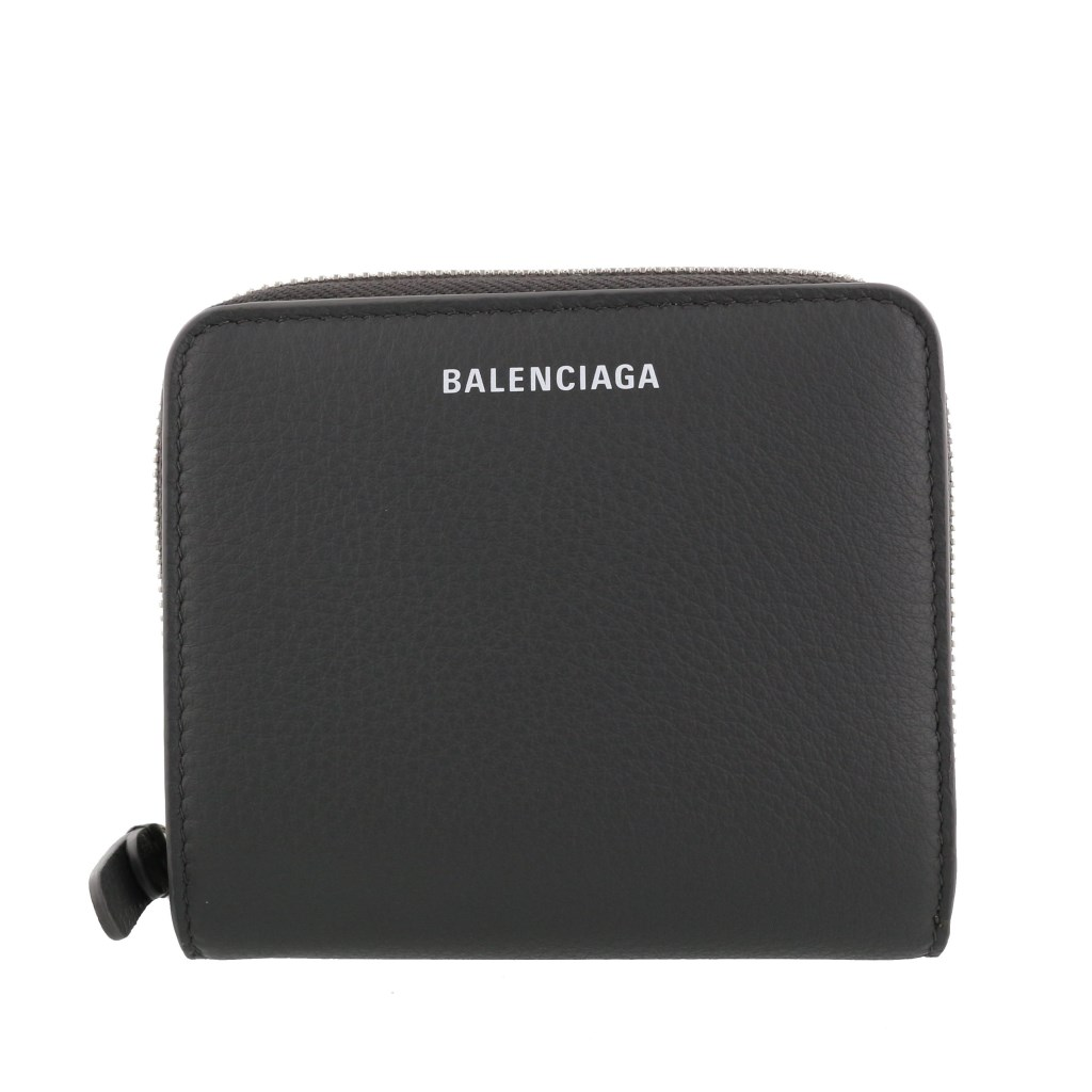 BALENCIAGA バレンシアガ 二つ折り財布 EVERYDAY BILLFOLD グレー 516366 DLQ0N 1110