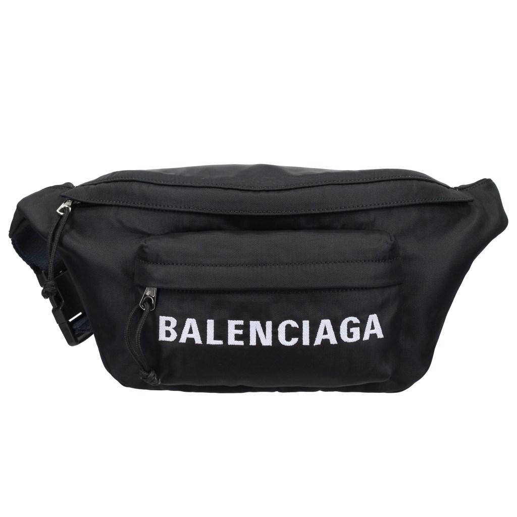 BALENCIAGA バレンシアガ ボディバッグ WHEEL BELT PACK AJ ブラック 528862 9F91X 1090