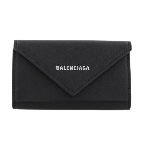 BALENCIAGA バレンシアガ キーケース レディース ペーパー ブラック 499204 DLQ0N 1000 NOIR