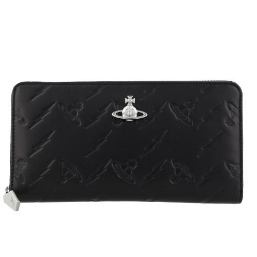 Vivienne Westwood ヴィヴィアンウエストウッド 長財布 レディース CANTERBURY ブラック 51050023 BLACK