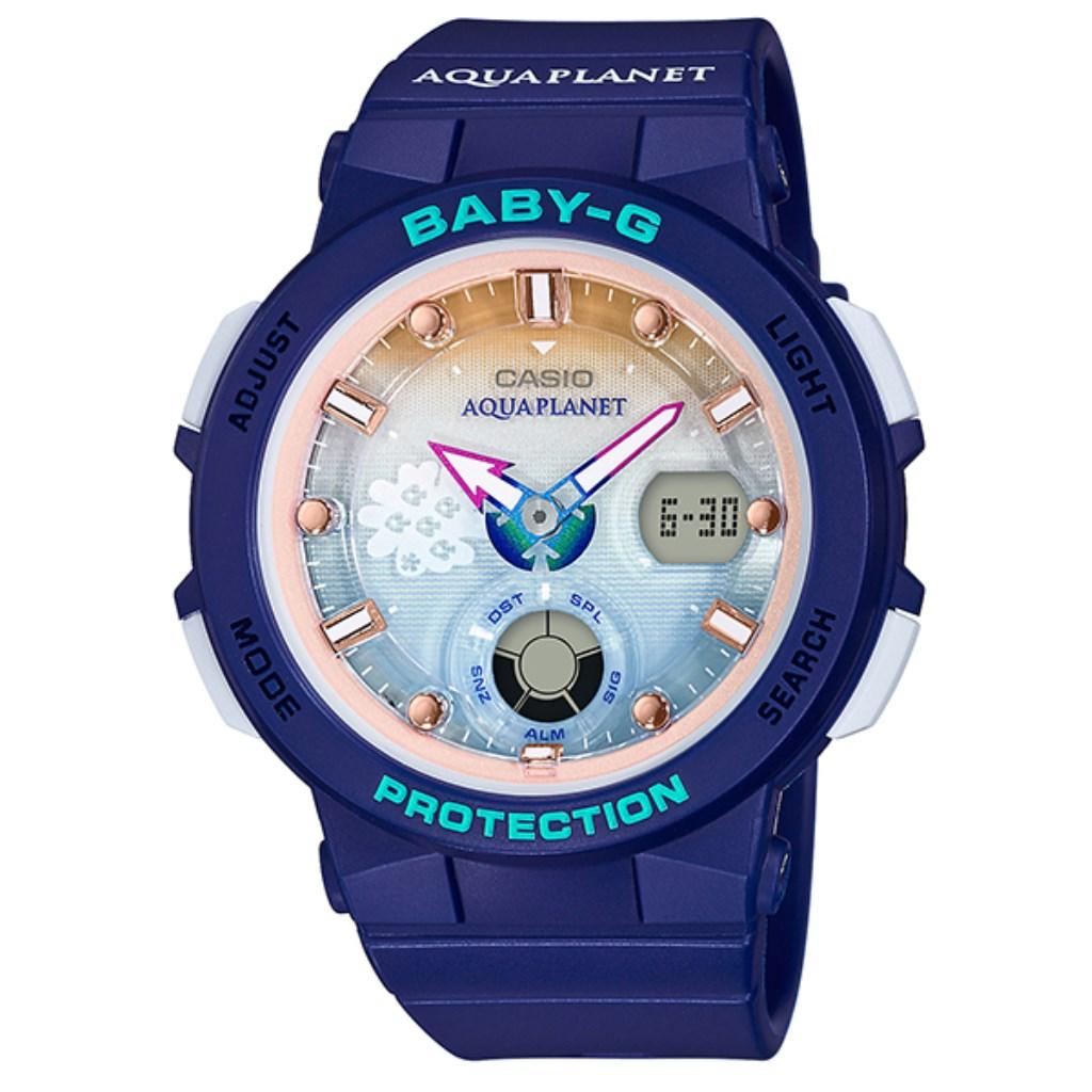 【34時間限定ポイント5倍 & 最大3万円OFFクーポン配布中】CASIO カシオ 腕時計 レディース ベビーG BGA-250AP-2AJR Baby-G