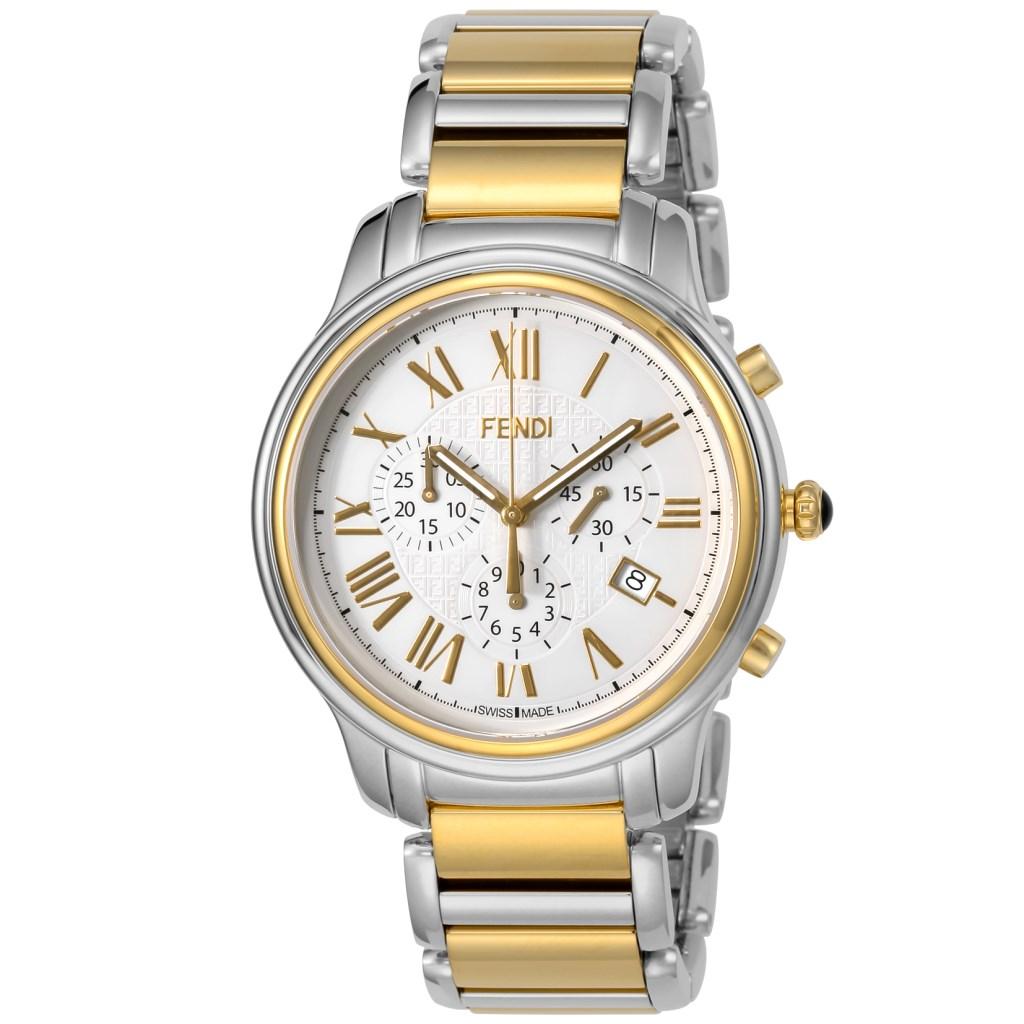 【34時間限定ポイント5倍 & 最大3万円OFFクーポン配布中】FENDI フェンディ メンズ 腕時計 クラシコクロノ F252114000