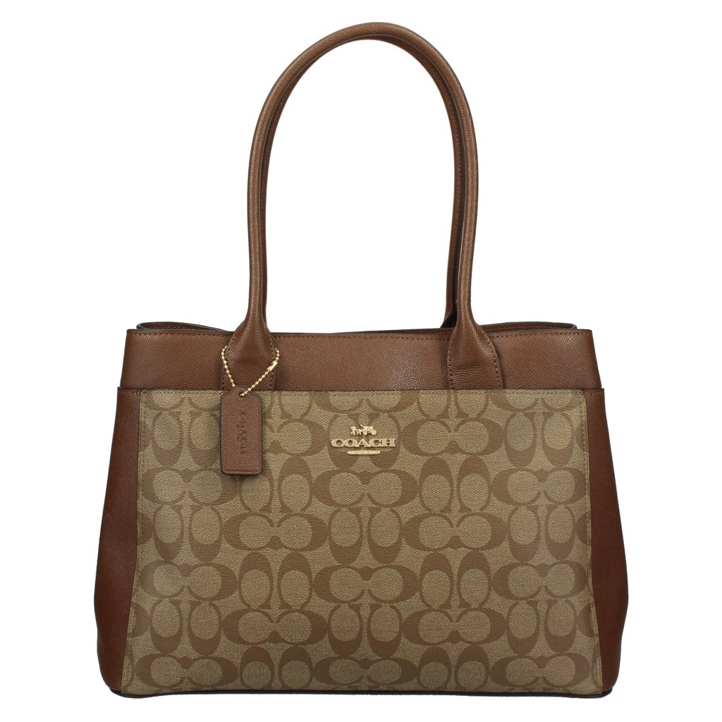 COACH OUTLET コーチ アウトレット トートバッグ レディース ブラウン F31475 IME74