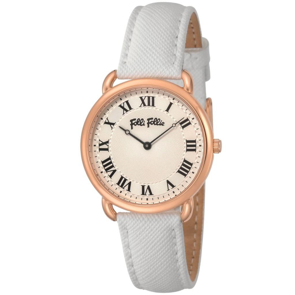 【34時間限定ポイント5倍 & 最大3万円OFFクーポン配布中】FolliFollie フォリフォリ レディース 腕時計 パーフェクトマッチ WF16R013SPSWH