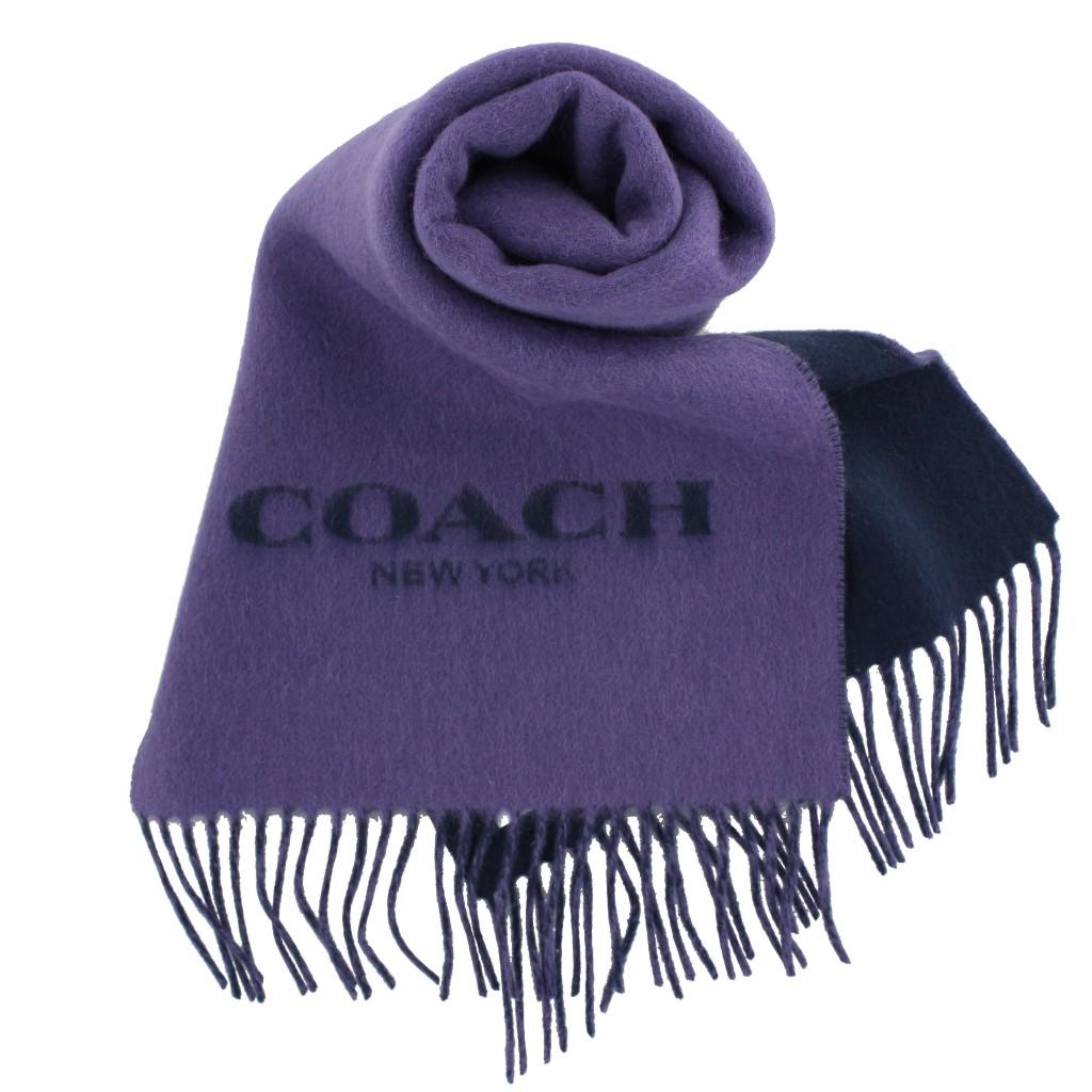 COACH OUTLET コーチ アウトレット マフラー レディース パープル F56209 VIO