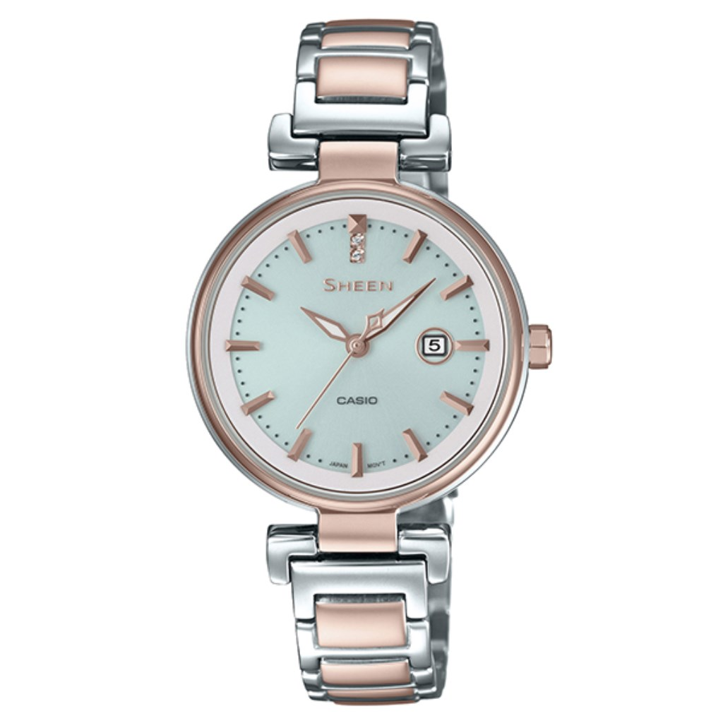 【34時間限定ポイント5倍 & 最大3万円OFFクーポン配布中】CASIO カシオ 腕時計 レディース シーン SHS-4524SCG-7AJF SHEEN